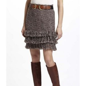 Anthropologie Knit Like Whimsical Stretchy Skirt